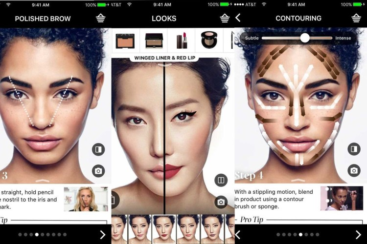 Augmented Beauty – Cosmetics eCommerce with Augmented Reality