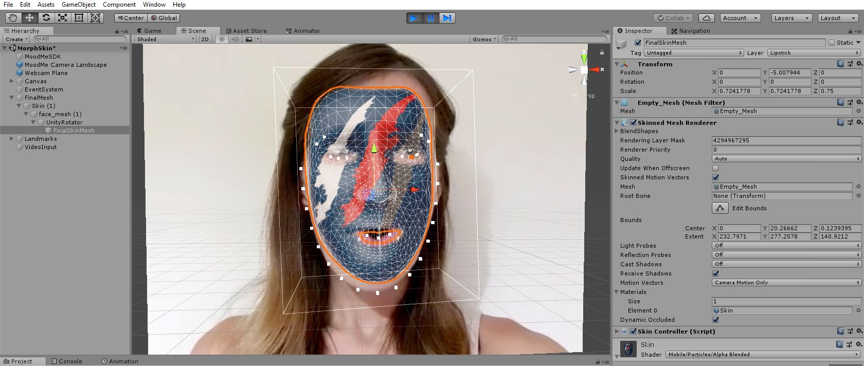Unity 3D Face Recognition SDK - MoodMe